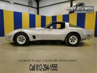 1981 Chevrolet Corvette. Powered by the Chevy 350 small