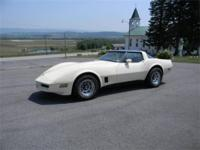1981 Corvette Coupe. Very Nice Original California Car