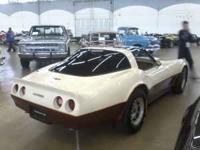 1981 Chevrolet Corvette two door coupe. Original well
