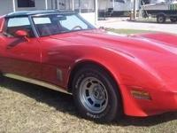 REDUCED!! This is a sweet 1981 Corvette with 68,277