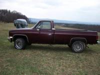 THE TRUCK IS GOOD CONDITION FOR THE YEAR. THE MOTOR HAS