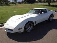 Nice,clean southern California 1981 T-top corvette.