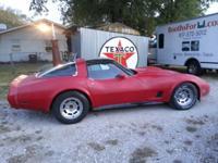 1981 Corvette 350, Automatic, Stock, All Original,