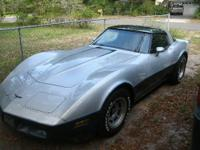 1981 CORVETTE T-TOPS MIRRORED EXCELLENT CONDITION