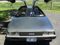 1981 Delorean DMC-12 I'm the third owner. In 2005 this
