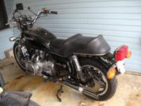 selling 1981 Goldwing (bare). Has 25,000 miles, rear
