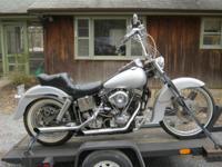 1981 Harley Davidson FXWG 1340cc Wide Gilde Shovelhead.