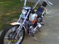 For Sale!!! A customized 1981 Harley Davidson