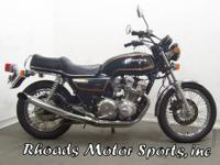 1981 Honda CB750K with 8,723 Miles This is one of the