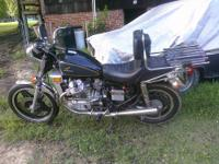 81 cx500. was running last year but the engine froze