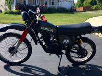 (google map) 1981 Honda enduro condition: excellent