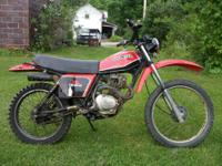 This is a 1981 Honda Street and Trail. It is 31 years