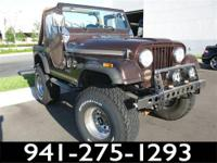 1981 Jeep CJ 4WD Our Location is: Mercedes-Benz of
