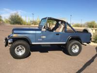 Fully restored all steel bodied 1981 Jeep CJ-8