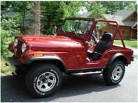 1981 Jeep CJ 5. This is a lovely 1981 Jeep CJ 5