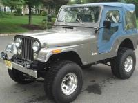 1981 JEEP CJ5 SURVIVER IT WAS ALL WAYS GARAGED KEEP AND