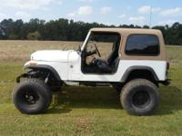 1980 jeep cj7 cj7 front end with jeep wrangler tub