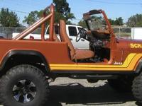 For sale is a 1981 Jeep Scrambler 4x4. It is a 4