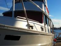 This 1981 Mainship 34 Mark I Trawler is in exceptional