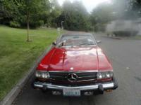 1981 Mercedes Benz 380SL Import Classic This is a