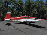 1981 Mooney Rocket 305PF. Factory package King