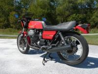 1981 Moto Guzzi CX100 LeMans, with a few body