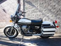 1981 Moto Guzzi G5 v1000 Police bike with 592 miles /