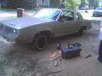 1981 oldsmobile cutlass, i have just the body and also