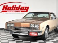 THIRD GENERATION TORONADO, FRONT WHEEL DRIVE, 2 DOOR