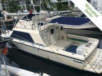 This vessel: Has good Kohler 5kw 184 hr generator. All