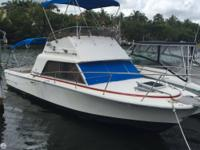 1980 Phoenix 29 has an enclosed head and is fully