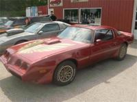 This is a Pontiac, Firebird Trans Am for sale by