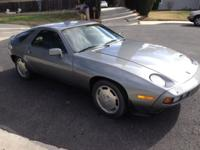 1981 Porsche 928 S. All aluminum fuel injected, ZF-5