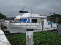 THIS IS A QUALITY BUILT 38 FOOT TRAWLER WITH THE