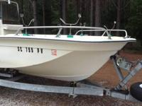 1981 Surecast 24 CC. Boat equipped with 90HP Yamaha
