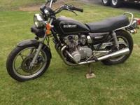 I am selling my 1981 Suzuki GS550 T motorcycle with