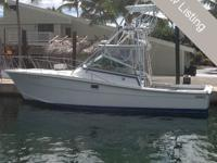 Great Sportfishing boat with a wide beam and plenty of