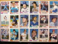 these are 6 cards to a sheet..17 sheets from topps