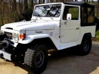 1981 Toyota Land Cruiser FJ40 2F Engine Impecable