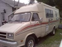 1981 Winnebago Warrior -21 feet length-97,000