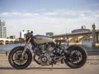 100 % Custom-made Build 1981 Yamaha Virago 750 Caf/
