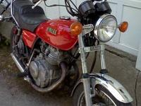 I have a 1981 Yamaha XS400. I just gave it a tune up. I