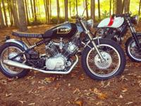1981 Yamaha Virago XV920R chaindrive. I build these for