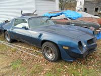 I have a 1981 Camaro Z28 project I bought a couple