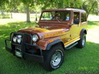 AMC Jeep. New Chevy. 350 High Performance with
