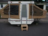 For sale 1981 Palomino Pop-Up Camping Trailer. New