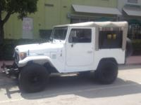 For sale is my 1981 Toyota FJ40 Land Cruiser. This FJ