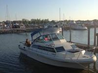 Nice 1982 27' SportCraft Family Fisherman all set for a
