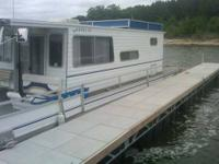 Type of Boat: House Boat Year: 1982 Make: Crest Model: