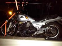 I have a 1982 750 Honda Nighthawk for sale runs and